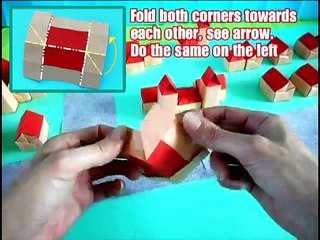 How to make a paper box | Easy origami paper box for beginners ... | 240x320