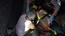 Şişli'de otel inşaatında asansör boşluğuna düşen işçi yaralandı