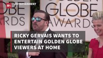 Ricky Gervais Is An Entertainer First