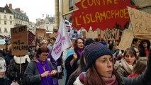 Des centaines de personnes à Dijon pour manifester contre les violences faites aux femmes