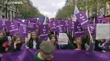 Roma-Parigi in marcia contro la violenza di genere