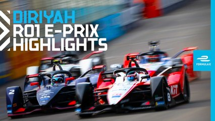 2019 SAUDIA Diriyah E-Prix  Friday Race Highlights