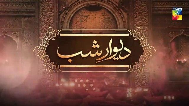Deewar e Shab Episode 24 HUM TV Drama 23 November 2019