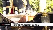 Giappone, la coppia imperiale e antichi riti d'intronizzazione