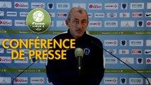 Conférence de presse Paris FC - AJ Auxerre (2-0) : Mecha BAZDAREVIC (PFC) - Jean-Marc FURLAN (AJA) - 2019/2020