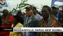 Fiori canti e balli, Bougainville vuole l'autonomia da Papua