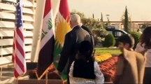 Pence intenta tranquilizar a los kurdos de Irak