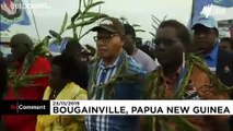 'Joy' in Bougainville as Pacific islands begin independence vote