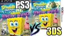 PS3 vs 3DS - SpongeBob SquarePants Plankton's Robotic Revenge Graphical Comparison