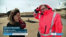 Atlantique : le littoral recule de manière alarmante