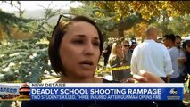 """Saugus School """"Shooting Hero"""" - Choir Teacher Ms. Holt and Mystery """"Wounded"""" Student Addison"""