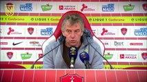 Brest - FC Nantes : la réaction des entraîneurs