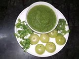 Green Chutney _ Hari Chutney _ Amla Chutney _ Amla Chutney With Dhania And Pudin