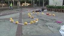 8일째 봉쇄 홍콩 이공대 학생회장도 떠나...소수만 남아 / YTN