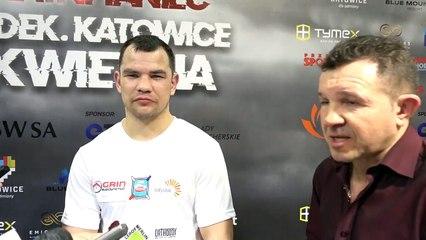 Dmitry Chudinov po przegranej z Robertem Parzeczewskim