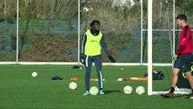 Avant HAC - Guingamp, interview de Tino Kadewere