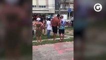 Vídeos mostram momentos depois de criança ser baleada