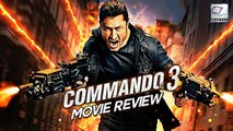 Commando 3 MOVIE REVIEW | Vidyut Jammwal | Adah Sharma