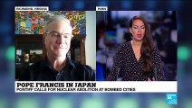 "Dr. Andrew Chesnut on France 24: ""The keystone of the Pope's trip to Japan is peacemaking"""