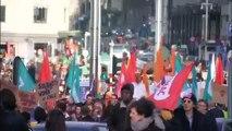 En Belgique, 10 000 personnes marchent contre les violences faites aux femmes