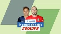 De Neymar à Ruffier, le carnet de notes de la 14e journée - Foot - L1