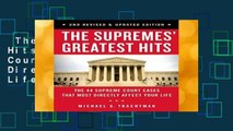 The Supremes Greatest Hits  The 45 Supreme Court Cases That Most Directly Affect Your Life  Best