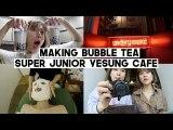 DTV.10: Making Bubble Tea, Super Junior Yesung's Cafe, What's Inside My Bag (Blanc Auvenue) | Q2HAN