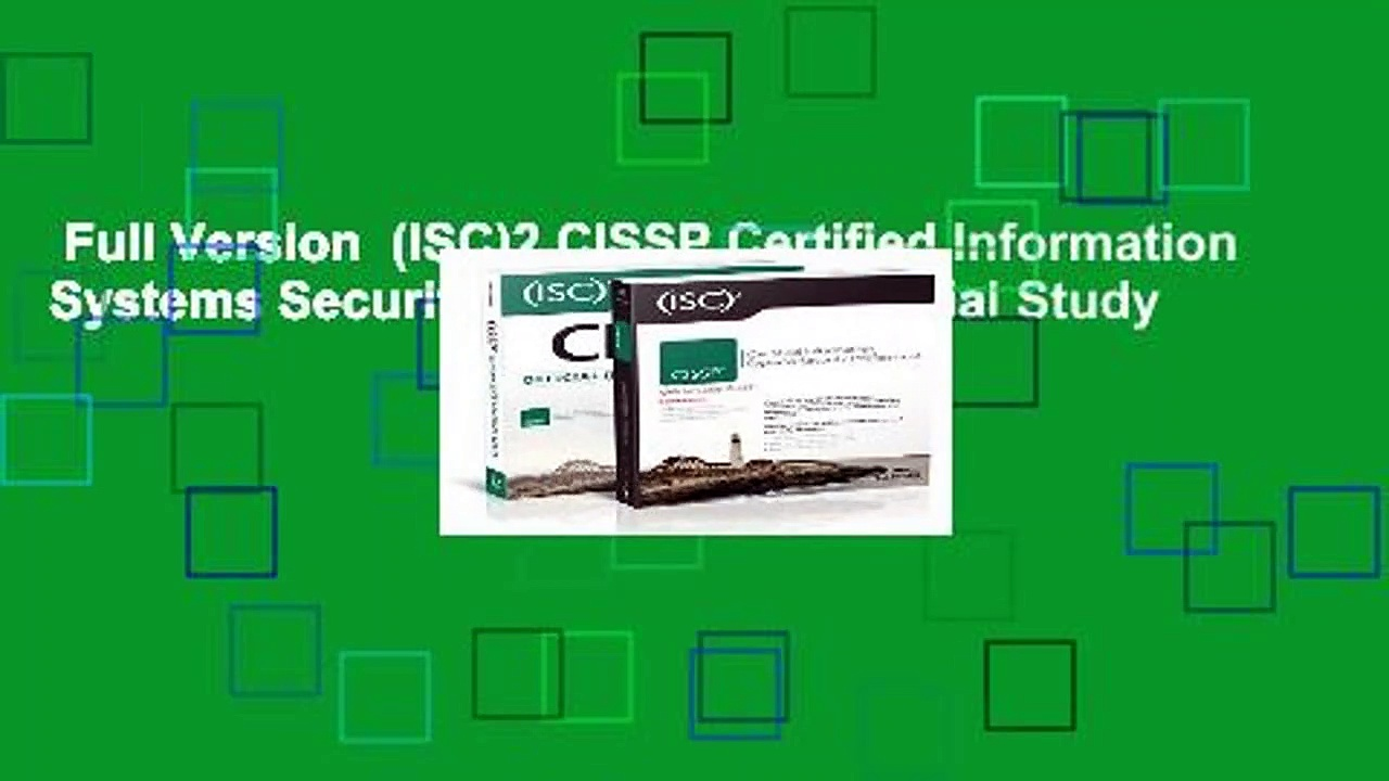 Full Version  (ISC)2 CISSP Certified Information Systems Security Professional Official Study