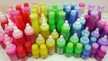Mixing Slime Glitter Learn Colors Water Clay Surprise Eggs Toys Toys For Kids