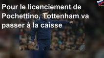 Pour le licenciement de Pochettino, Tottenham va passer à la caisse