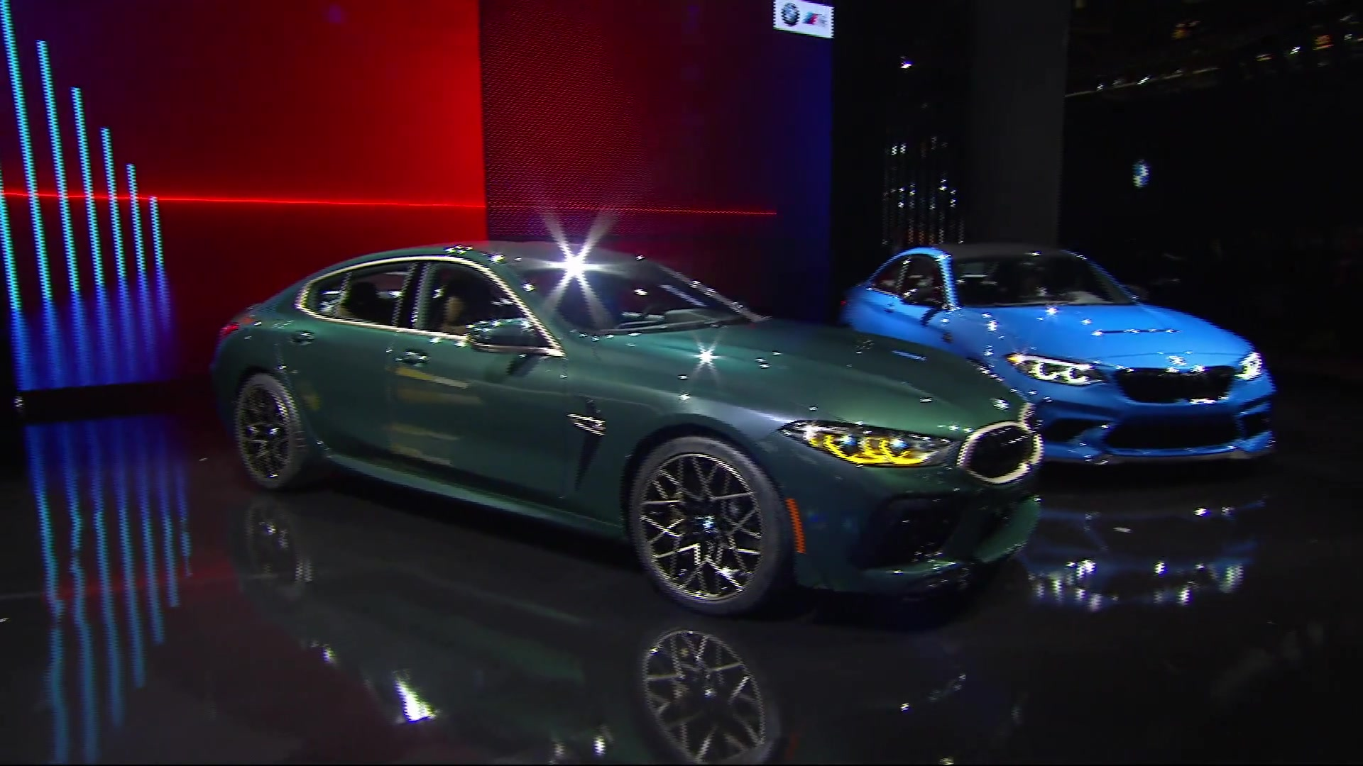 World Premiere of the new BMW M2 CS Racing at LA Auto Show 2019