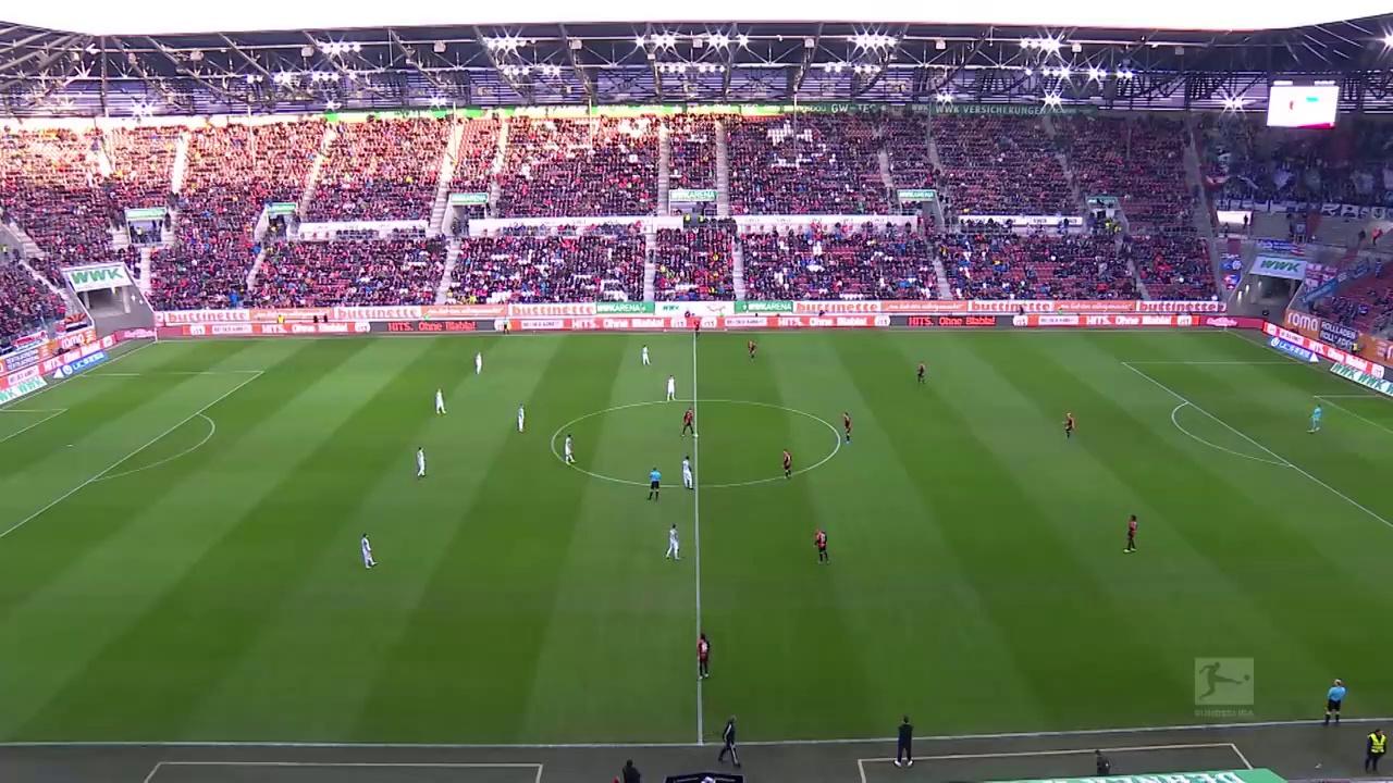 Augsburg - Hertha Berlin (4-0) - Maç Özeti - Bundesliga 2019/20