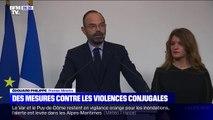 """Grenelle des violences conjugales: Edouard Philippe annonce """"la suspension automatique de l'autorité parentale pour le conjoint meurtrier dès 2020"""""""