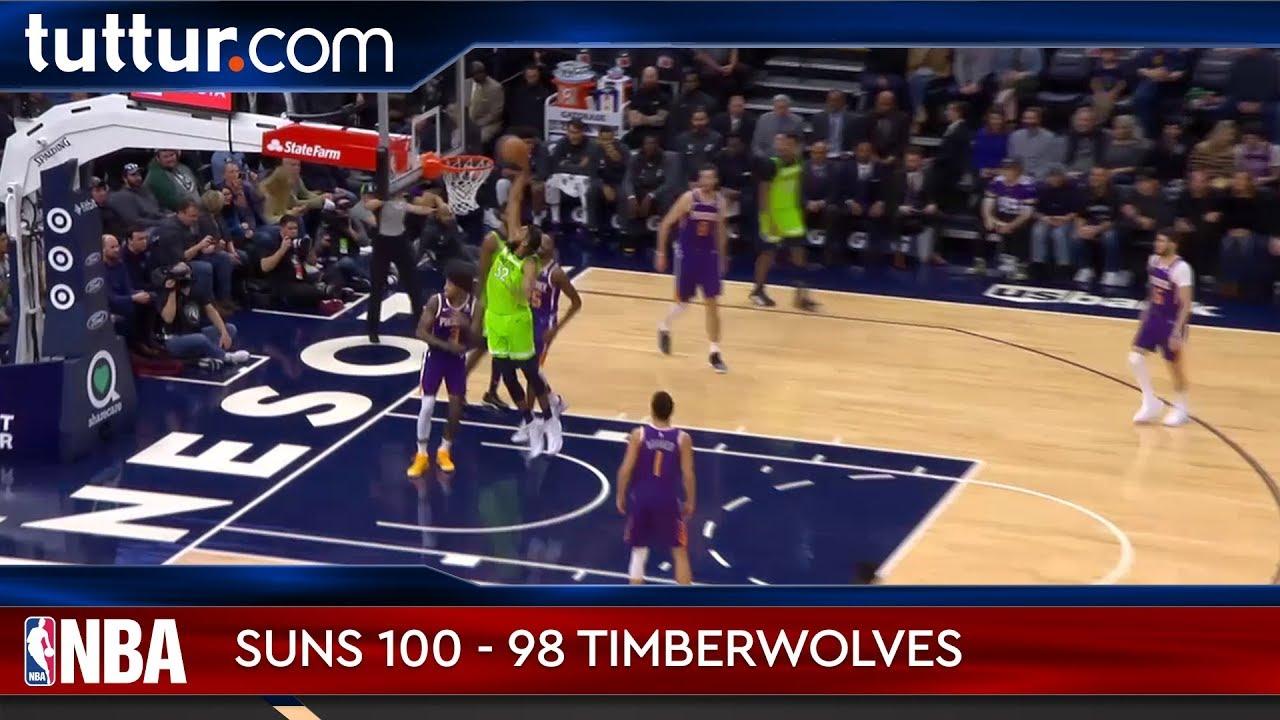 Phoenix Suns 100 - 98 Minnesota Timberwolves