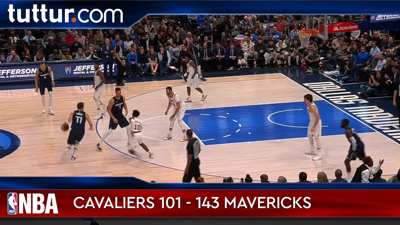Cleveland Cavaliers 101 - 143 Dallas Mavericks