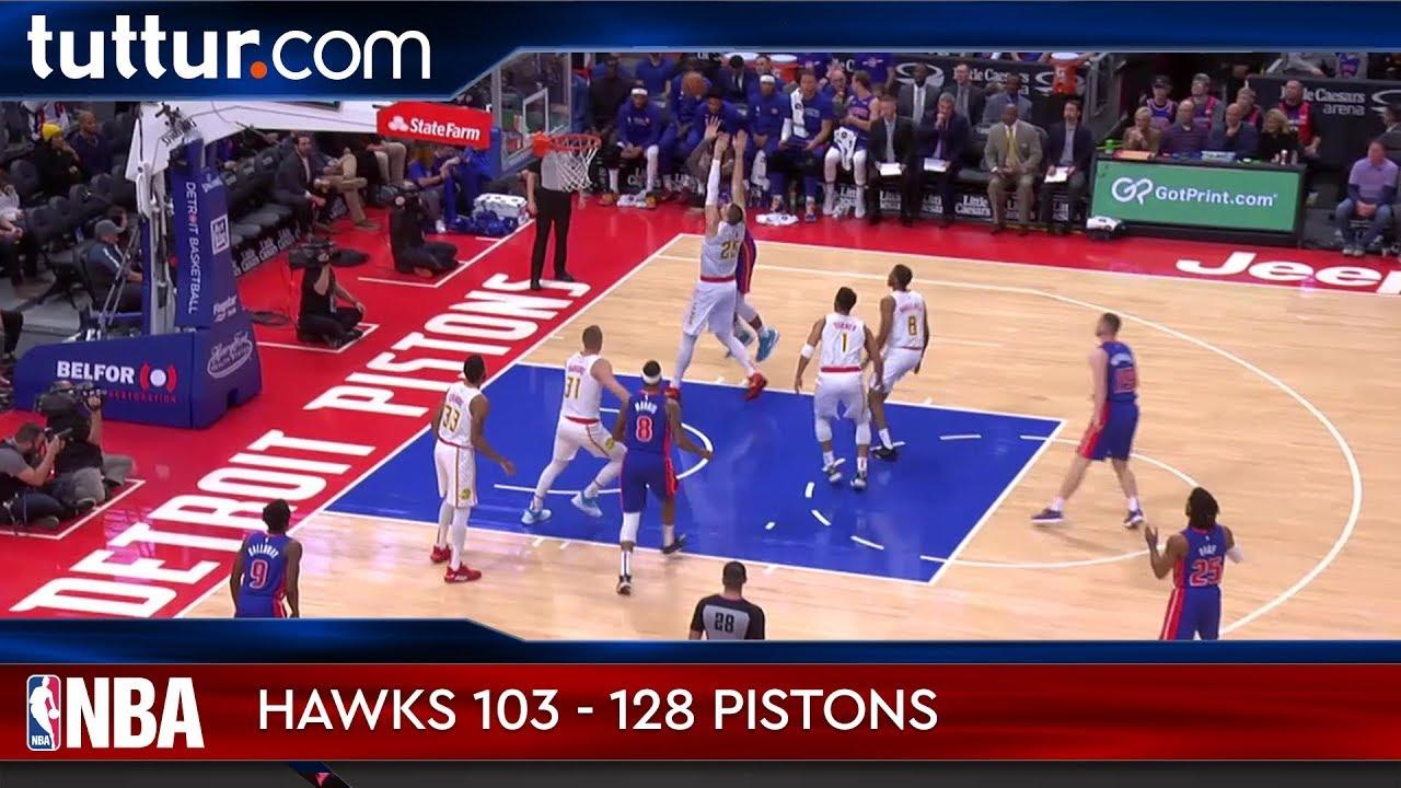 Atlanta Hawks 103 - 128 Detroit Pistons