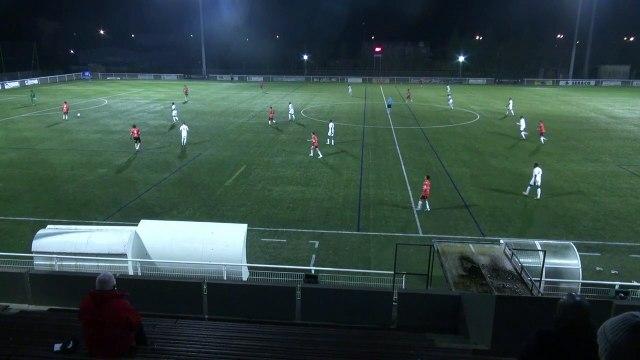 Les buts de la réserve du FC Lorient face à Mantes (3-0) 19-20