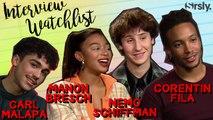 MORTEL : La Watchlist du casting de la série Netflix