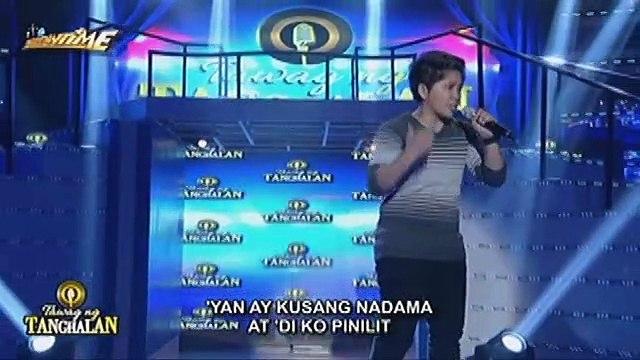 Love at Marty nagharap para sa golden microphone ng Tawag ng Tanghalan