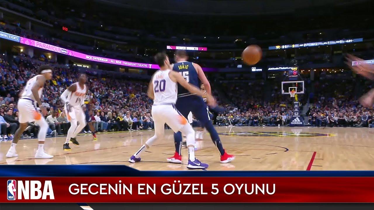 NBA'de Gecenin En Güzel 5 Oyunu | 24.11.2019