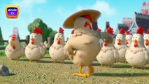 Funny Chicken Song with Funny Lambs and the Most Popular Children's Songs