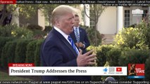 2019 AUG 31 President Trump Gaggle; before heading off to Camp David