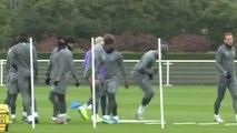 Mourinho leads Tottenham training ahead of Champions League return
