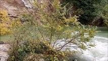 La Fontaine de Vaucluse en crue le 24 novembre 2019