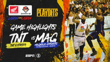 Highlights: TNT vs Magnolia | PBA Governors' Cup 2019 Quarterfinals