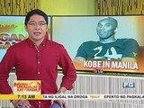 Kobe Bryant, enjoy sa muli niyang pagbisita sa Pilipinas