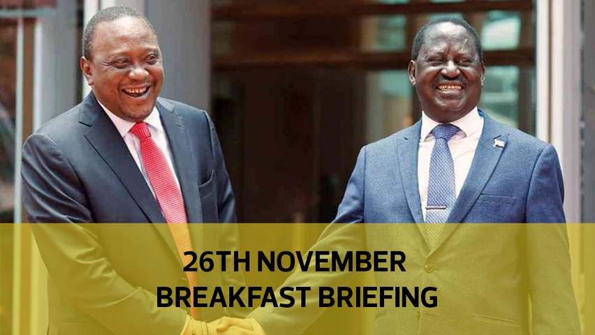 D-Day for BBI | Humanitarian crisis in West Pokot | House prices fall further: Your Breakfast Briefing