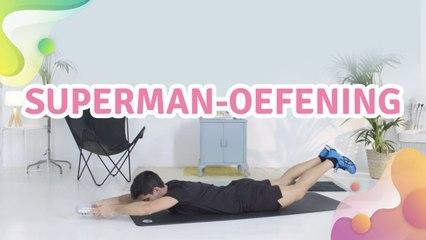 superman-oefening - Gezonder leven