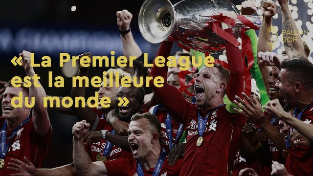 """Henry Winter : """"La Premier League est la meilleure"""""""