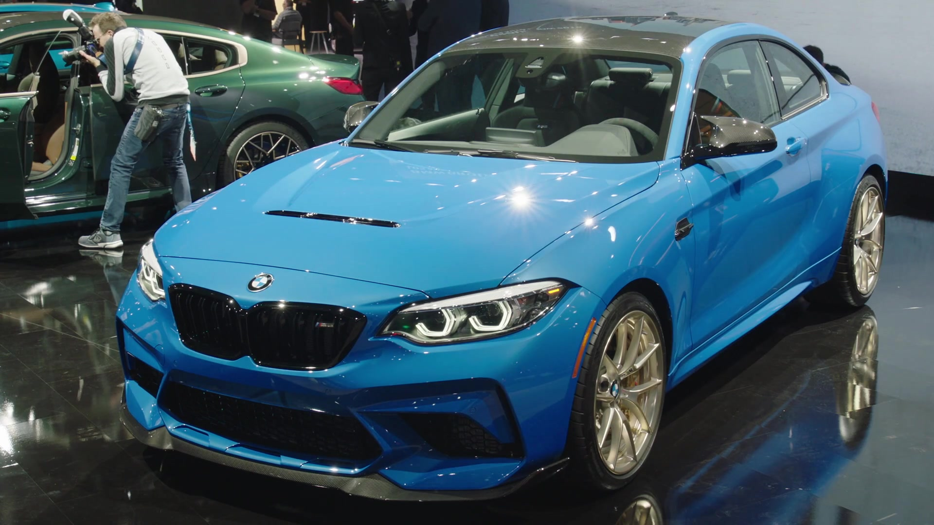 The new BMW M2 CS Racing at LA Auto Show 2019
